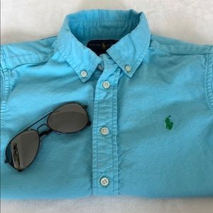 Ralph Lauren Shirts & Tops - Ralph Lauren Toddler Boy Short Sleeves Shirt